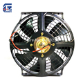 Universal 10'' A/C Air Conditioning Electric Condenser Cooling Fan 12V / 24V