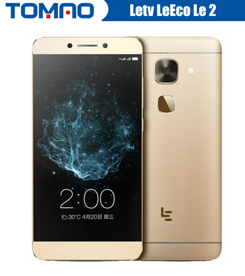 "Original Letv LeEco Le 2 X620  FDD LTE Cell Phone Deca Core 5.5"" 1920*1080 3/4GB RAM 16/32GB ROM Fingerprint 16MP Camera"