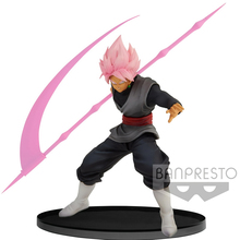 Tronzo Banpresto Original Dragon Ball Super BWFC2 Goku Black Action Figure Toys Dragon Ball Zamasu Super Saiyan Rose Model Toy