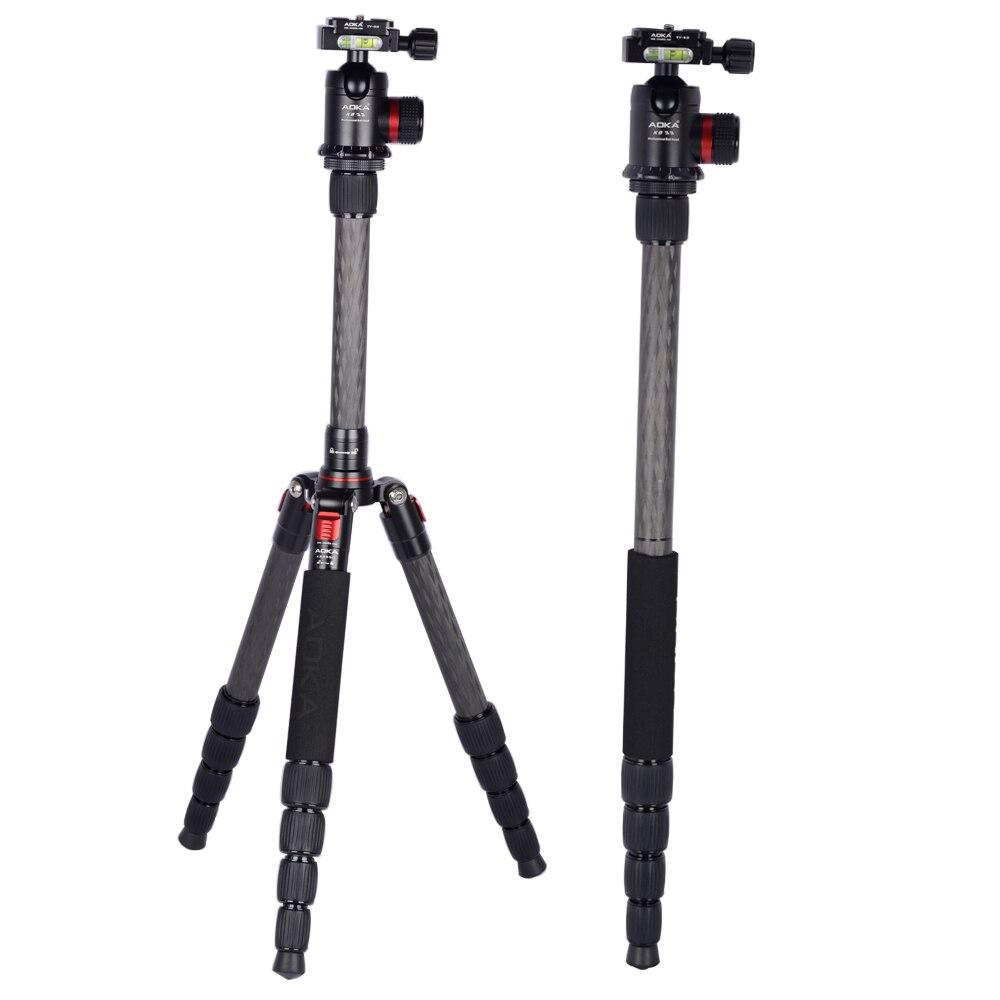 Sturdayทนทานน้ำหนักเบาpanoramicขนาดกะทัดรัดมืออาชีพคาร์บอนไฟเบอร์ขาตั้งกล้องสำหรับกล้องที่มี360องศาบอลหัว-ใน ขาตั้งกล้อง จาก อุปกรณ์อิเล็กทรอนิกส์ บน AliExpress - 11.11_สิบเอ็ด สิบเอ็ดวันคนโสด 1