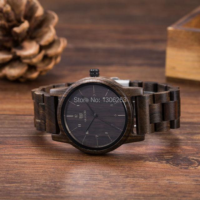 Envío de la gota Mujeres de Los Hombres Reloj de Vestir Casual de Negocios Reloj Reloj De Madera de Diseño En El Precio Barato