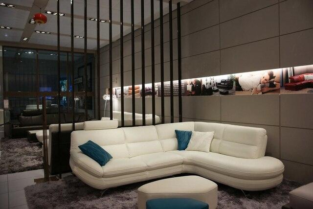 Di alta qualità divano in pelle moderno divano componibile