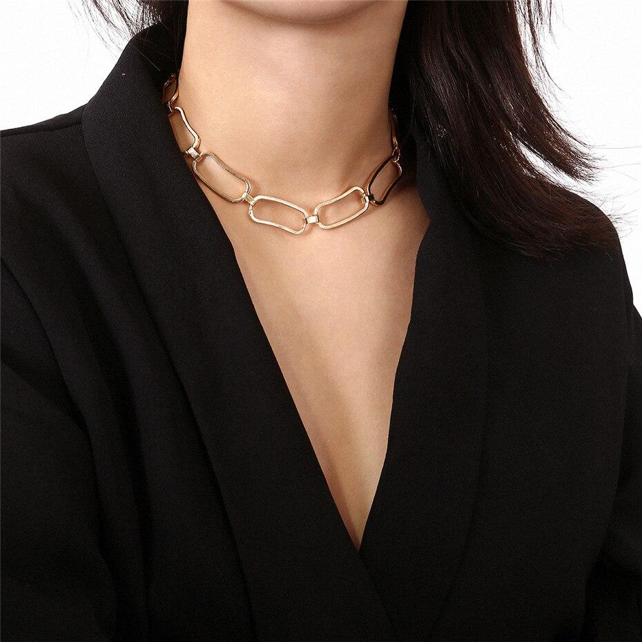 Ingemark Korean Sweet Love Heart Choker Necklace Statement Girlfriend Gift Cute Gold Silver Necklace Jewelry Collier Femme 18 10