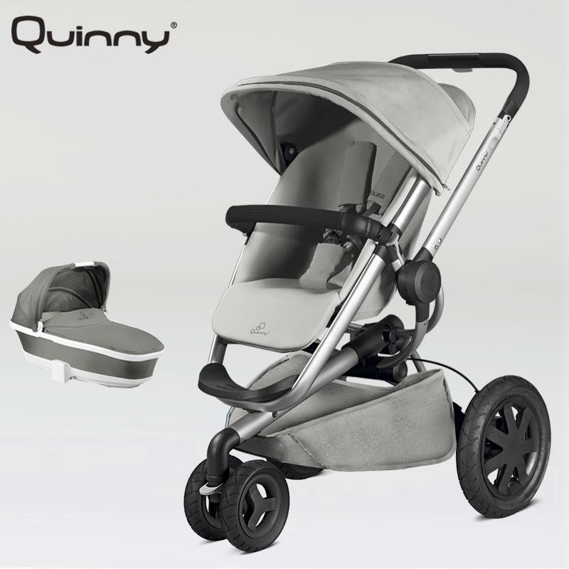 Quinny Buzz Xtra 2 in 1 Baby Stroller High Landscape Folding Three Wheeled Shock Absorber Baby Stroller Bidirectional push carts russian wholesale new luxury baby stroller 3 in 1 high landscape three dimensional four round baby stroller carts strollers