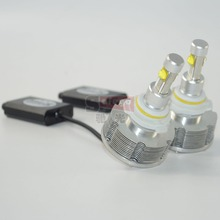 1 set  Free shipping 2400LM  h7 led headlights white color 6000K h7 led headlight IP 68 LED chip h7  led headlight