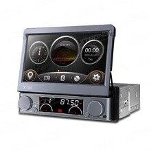 """7 """"solo Din Car DVD 1 Din Autoradio Radio De Coche Un Estruendo con 1024*600 de Resolución y Panel Frontal Desmontable y Enlace Espejo Soporte"""
