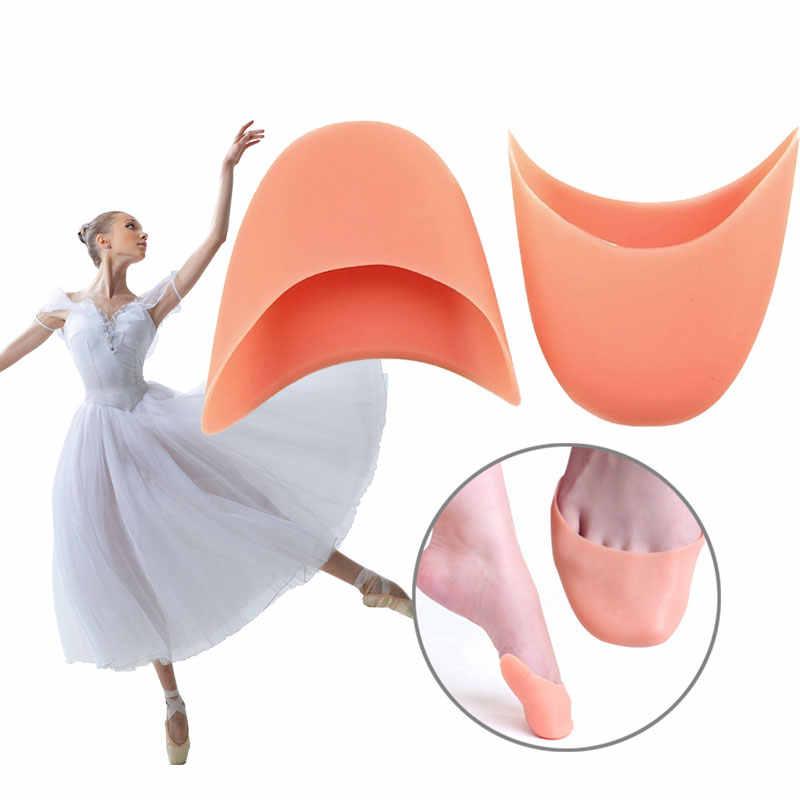 Силиконовые балет носки шапки балет танец стильный атлет ноги танцор Полезная обувь