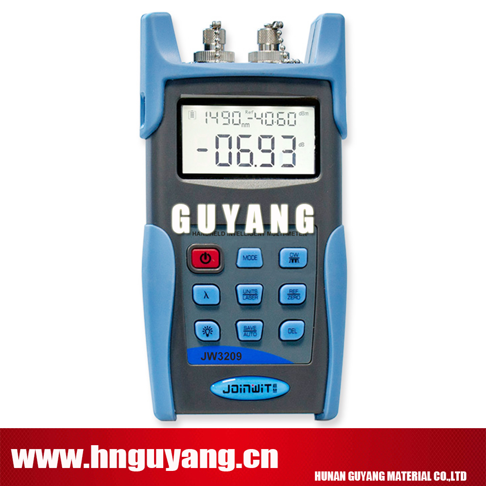 JW3209A Handheld Optical Multimeter  Fiber Optic Power Meter with 1310/1550nm Light SourceJW3209A Handheld Optical Multimeter  Fiber Optic Power Meter with 1310/1550nm Light Source