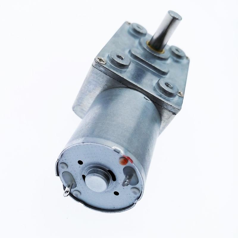 1pc ZGY370 DC12V Reducci/ón Motor Turbo Worm Motorreductor DC 12V 1RPM 2rpm-100RPM 200 RPM el/éctrica de Caja de Cambios Reductor NO-LOGO L-Yune Color : 100rpm, tama/ño : 6V
