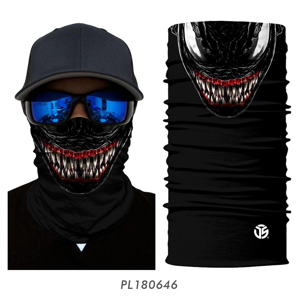3D Balaclava Venom Motorcycle Mask 17
