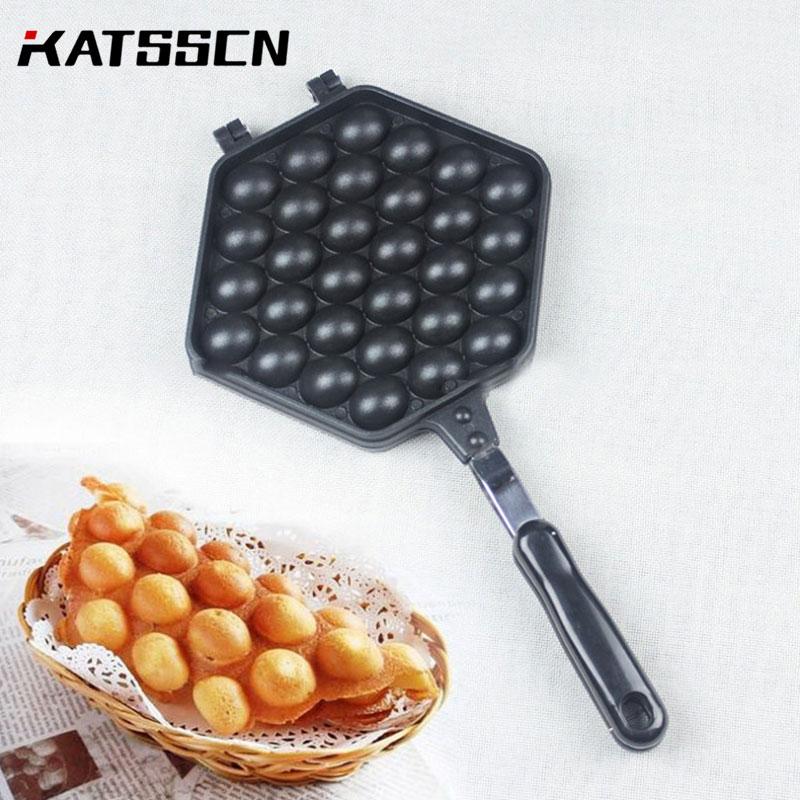 12 Cavities Mini Cake Pan Takoyaki Grill Pan Small Balls Cast Iron Pan Skillet Non Stick Kitchenware Mini Cake Bake Pan 230