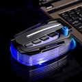 Mini Vacuum USB Laptop Cooler Low Noise Vacuum USB Cooler Mini Air Extracting Cooling Pad Fan Radiator Led for Laptop Notebook