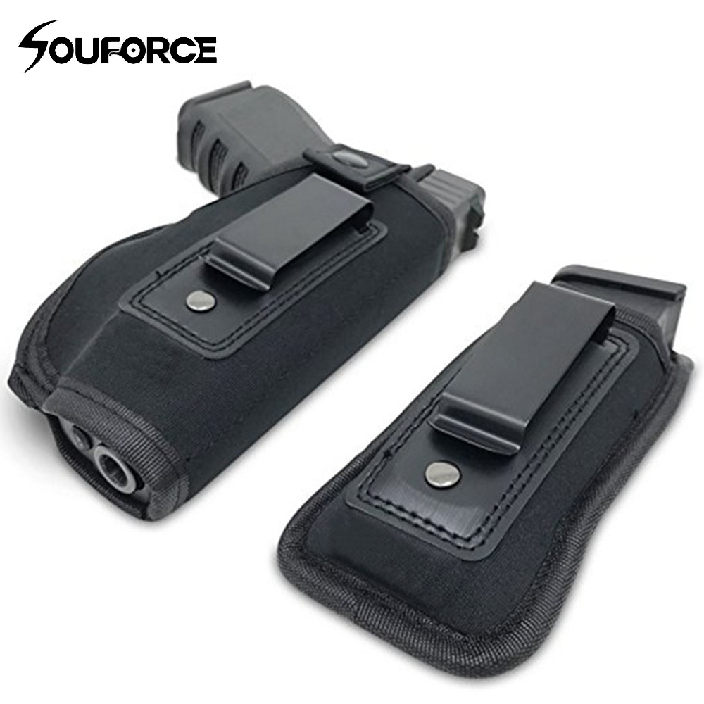 Tactical Gun Holster Diving Cotton Invisible Waist Sleeve With Magazine Bag Fits All Gun Sizes For Hunting Accessory