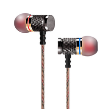 KZ ED2 Special Edition Gold Plated Housing Earphone with Microphone 3.5mm HD HiFi In Ear Monitor Bass Stereo Earbuds for Phone