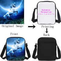 5c31876e0fec VEEVANV индивидуальные изображения логотип, название Малый сумки через плечо  для обувь мальчиков девочек слинг сумки