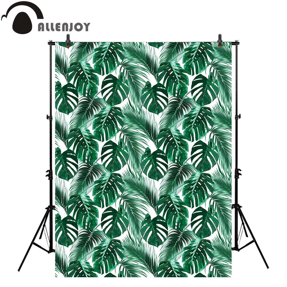 Allenjoy photography background green tropical leaves jungle floral pattern summer backdrop photocall photo studio photobooth motorcycle cm 125 front wheel brake cylinder disc brake pump assy motorbike up pump brake level for honda cm125 cm 125