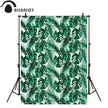Allenjoy Photography Background Green Tropical Leaves Jungle Floral Pattern Summer Backdrop Photocall Photo Studio Photobooth Buy At The Price Of 10 28 In Aliexpress Com Imall Com Huge collection, amazing choice, 100+ million high quality, affordable rf and rm images. allenjoy photography background green