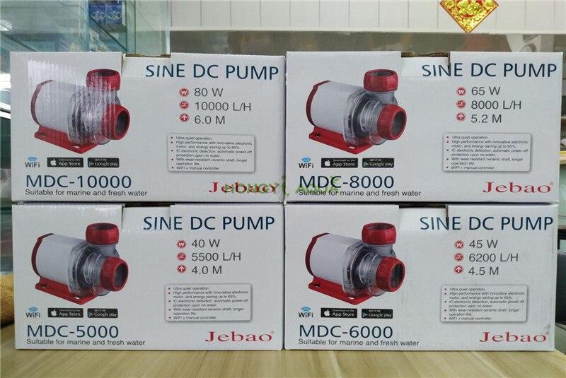 2019 NEW Jebao WIFI Version functional submersible pump for marine fresh aquarium SINE DC PUMP MDC5000 MDC6000 MDC8000 MDC10000