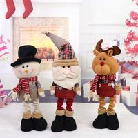 New Christmas Decorative Doll Christmas Desk Decoration Doll Toy Xmas Tree Hanging Ornament Pendant Decoration