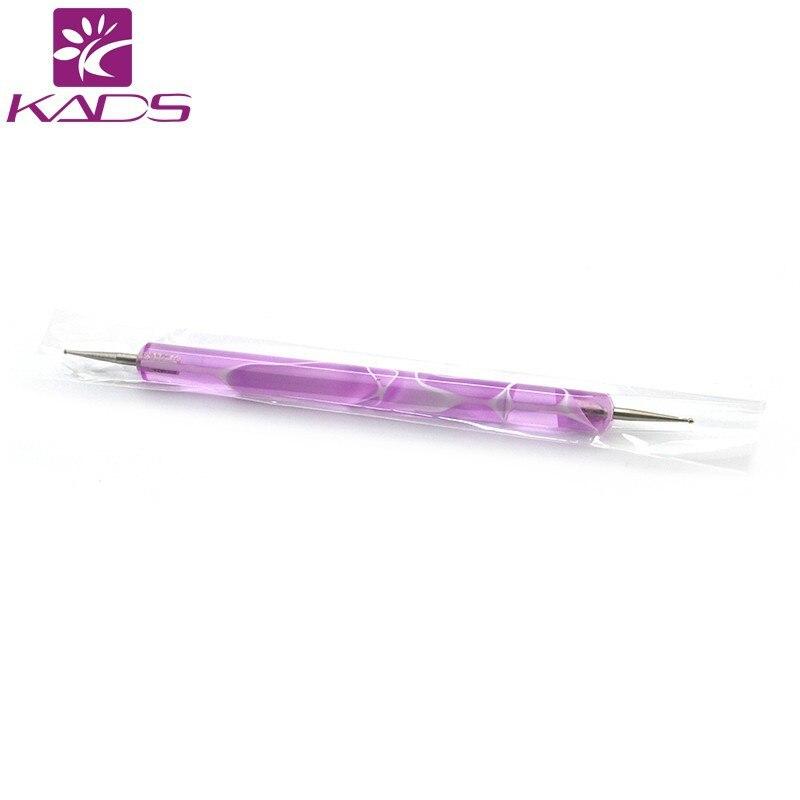 KADS Спираль Расставить Инструмент 2-полосная Nail Art Расставить Инструмент с Spiral Ручка для Горный Хрусталь 1 шт
