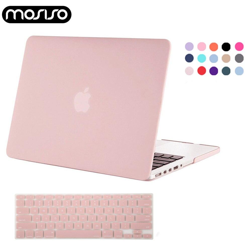 Mosiso computador portátil mac 13 polegada caso capa de plástico fosco a2179 para macbook ar pro 13 15 retina 2015 2019 2020 silicone kb capa