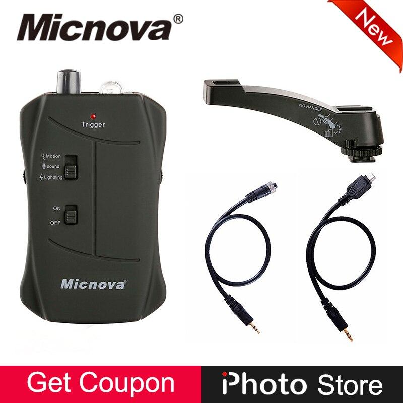 Micnova MQ-VTC 3 en 1 Mode Foudre Mouvement Déclenchement Sonore Solution IR Télécommande Déclencheur pour Appareil Photo Numérique Canon
