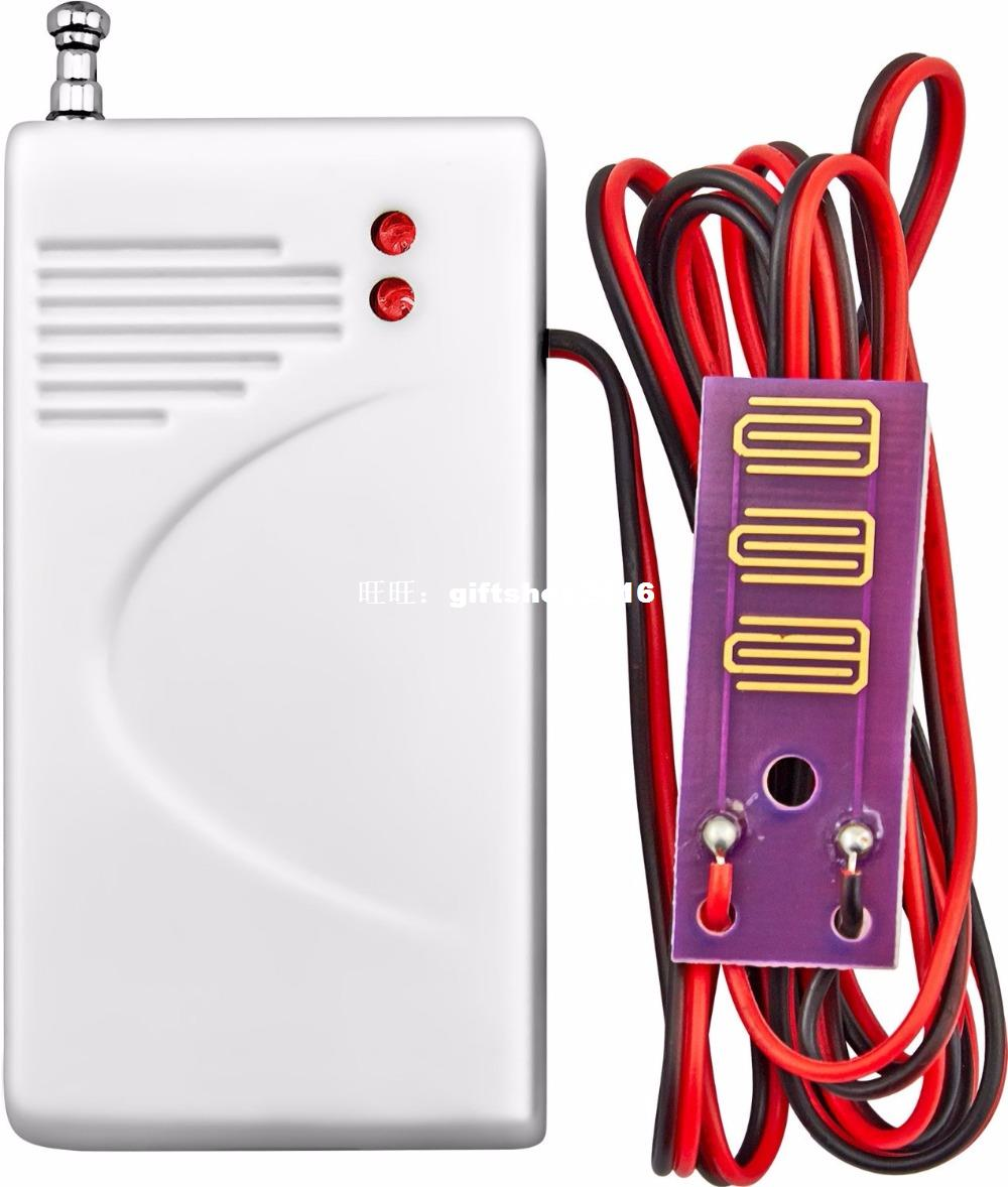433MHz Wireless Water Intrusion Detector Leak Sensor Work For GSM PSTN SMS Home House Security Alarm System water leak detector 433mhz wireless intrusion work with gsm pstn sms home house security for alarm system water leak sensor