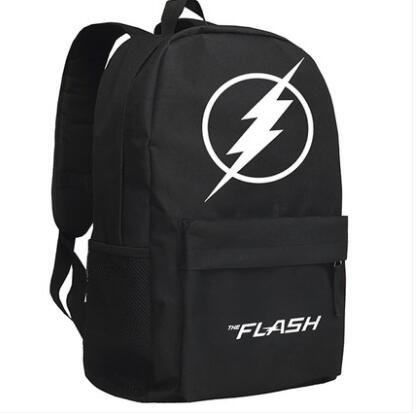 New The Flash Backpack Cosplay Justice League Anime Cartoon Bag Anime Oxford Schoolbag 100% origianl steelseries kana v2 mouse optical gaming mouse