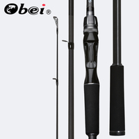Obei Spurs 1.98m 2.28m 2.58 3 section bait casting fishing rod travel ultra light casting spinning boat lure 7g 55g M/ML/MH Rod