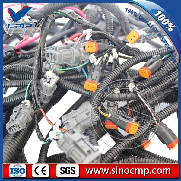 20y 06 31611 Excavator Wiring Harness For Komatsu Pc200 7