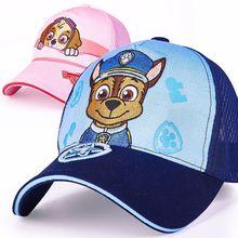 Настоящий Щенячий патруль, Популярная Детская кепка, игрушка Щенячий патруль, летние шляпы, фигурная игрушка, подарок на день рождения, Рождество, высокое качество