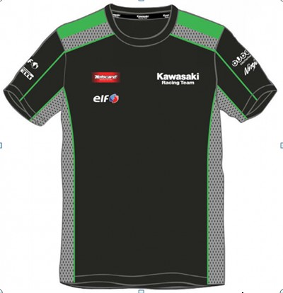 Free shipping 2016 Kawasaki Motocard Team Race Wear shirt mens Motorcycle  Motorbike MOTO racing jersey aa3e1f38e488