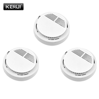 Smoke Detector High Sensitivity Independent Fire Smoke Sensor Monitoring Home Safety Fire Protection Equipment System
