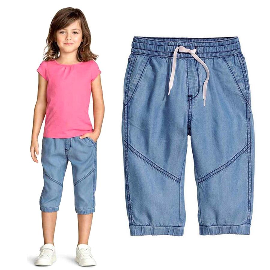 Aliexpress.com : Buy Summer casual pants Girls capri pants Girls ...