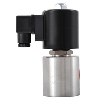 Normally Open Stainless Steel Material Solenoid Valve DN2~3, 1/4 , 300Bar High Pressure Solenoid Valve NPT1/4 or G1/4 Hot Sale