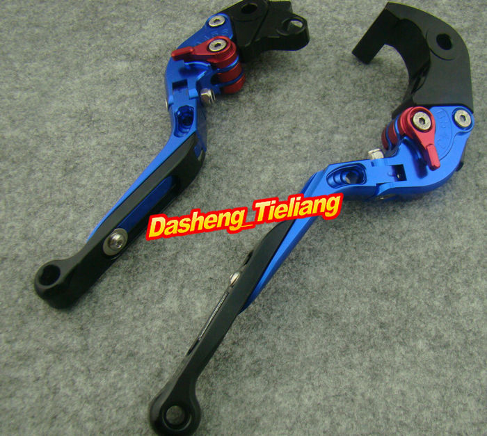 Foldable Motorcycle Brake Clutch Levers For CBR 1000RR CBR1000RR 2004 2005 2006 2007, Blue aftermarket free shipping motorcycle parts brake clutch hand lever for honda cbr1000rr cbr 1000 2004 2005 2006 2007 carbon