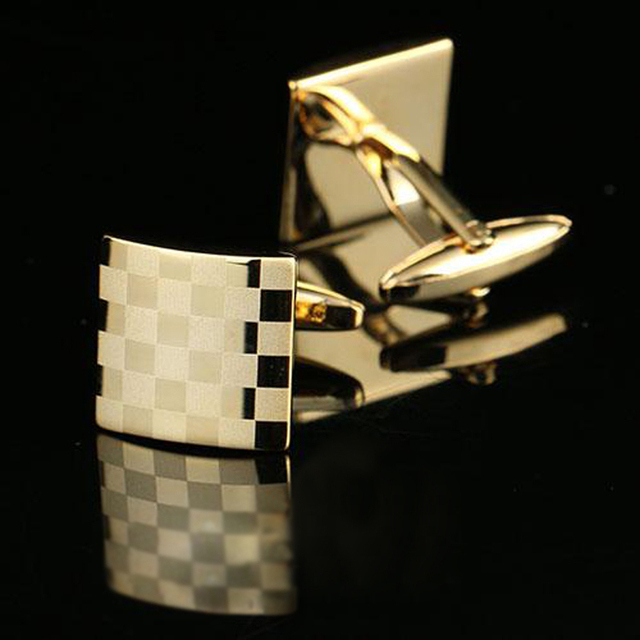 Golden Men Cufflinks