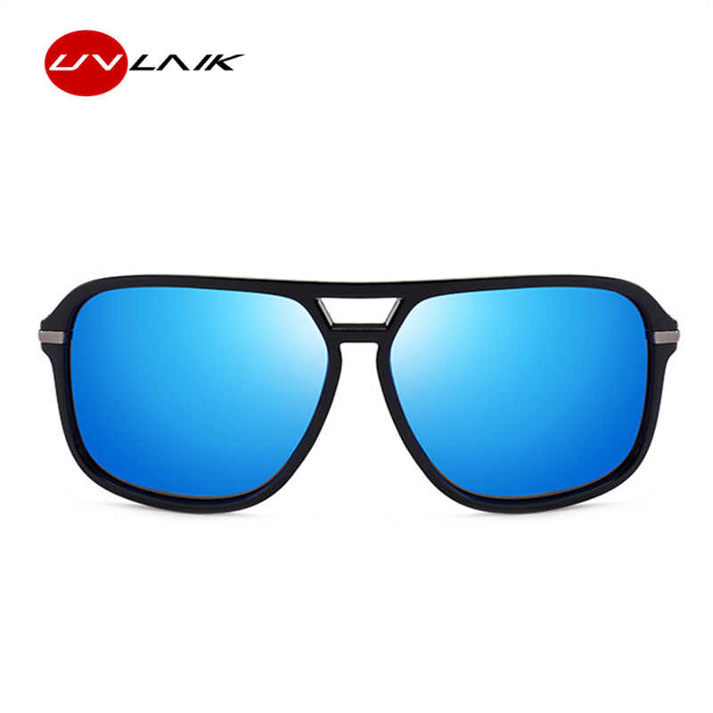 a0b21f32d6 ... UVLAIK Oversized Sunglasses Men Polarized Mirror Goggles Driving Sun  Glasses Man Brand Designer Retro HD Driver