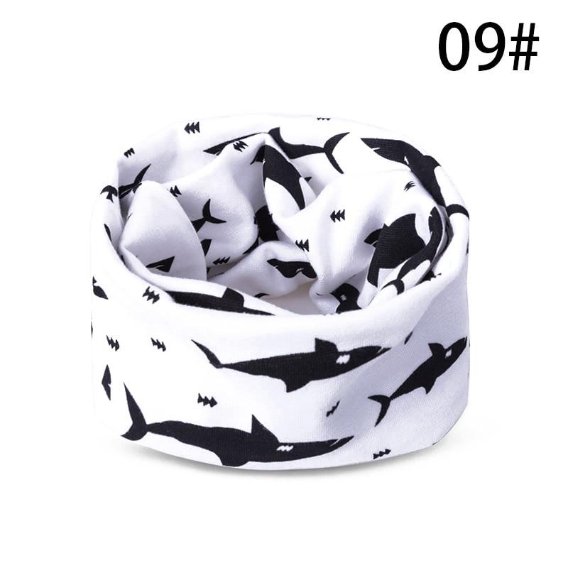Модный шарф на Шею Зимние теплые Детские шарф из хлопка для обувь девочек мальчиков толстые теплые кольца шарфы женщин дети комфорт Унис - Цвет: I