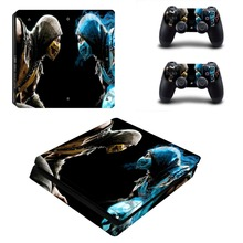 Game Mortal Kombat PS4 Slim Skin Sticker