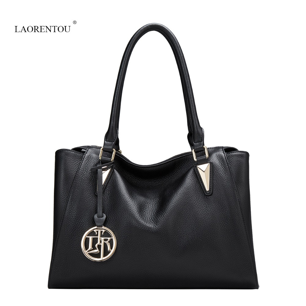 LAORENTOU Luxury Genuine Leather women handbags Famous Brand High quality Tote Autumn NEW fashion woman Shoulder bag Travel bags stamford avr as480 discount automatic voltage regulator