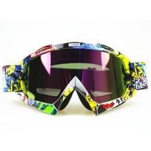 2017 New Arrival mirada sorprendida transparent Sport racing off road motocross goggles glasses for motorcycle dirt bike
