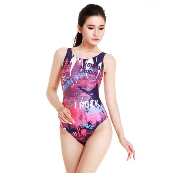 6bd11a855ad2 Traje de baño de una pieza profesional para mujer YingFa traje de baño de  carreras deportivas ...