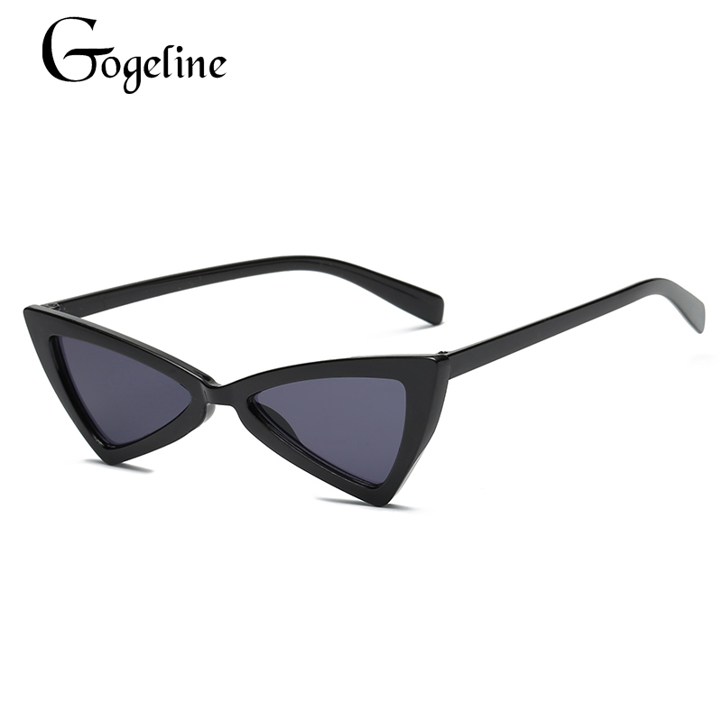 Gogeline Cat Eye Sunglasses Women Small Ladies Sun glasses Vintage Retro Sexy cat Eyeglasses Eyewear Shades UV400 C0015