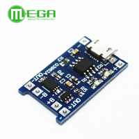100pcs 5V 1A Micro USB 18650 Lithium Battery Charging Board Charger Module+Protection Dual Functions