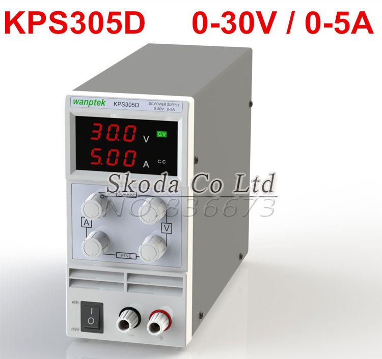 ФОТО Wholesale New Arrival Mini Adjustable DC power supply,0~30V 0~5A ,110V/220V, Switching Power supply,US/EU/AU Plug