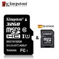 ES STOCK Original Kingston Micro SD Card 32 GB 64 GB Class 10 Microsd 64GB 32GB Class10 TF Flash Memory Card with Card Adapter