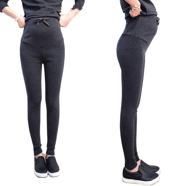 Maternity Pants Casual Pregnancy Trousers for Pregnant Women High Elasticity Comfortable Cotton
