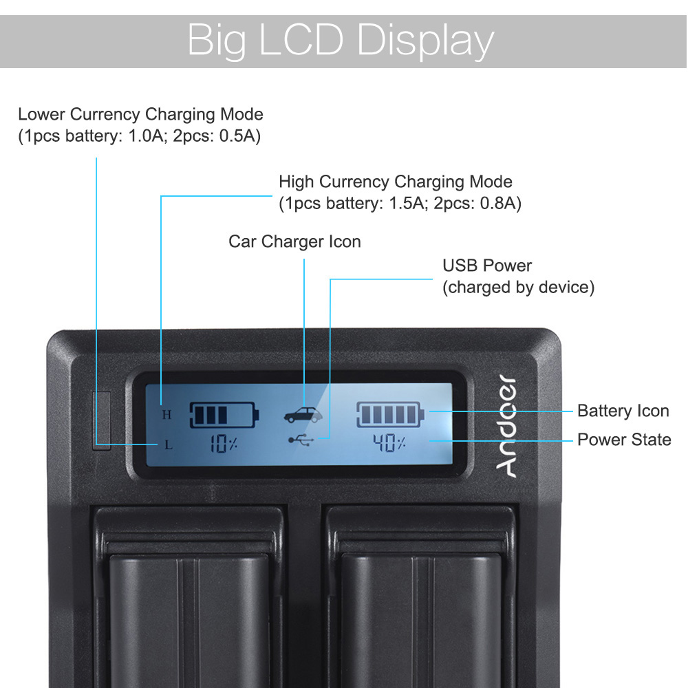 Dual Digital Battery Charger 1