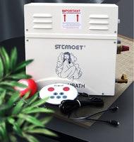 9 кВт Парогенератор Сауна для сауны управление паровой портативная баня для дома спа сухой поток печи влажный пар пароварка